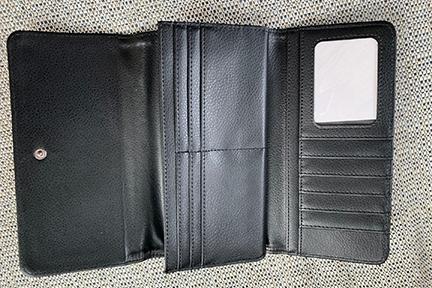 portefeuille pour femme noir